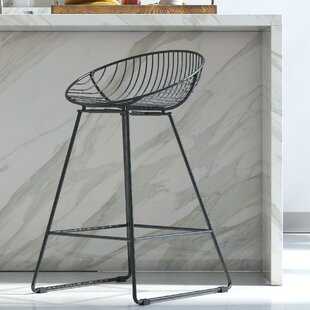 Ellis 24.5 Bar Stool CosmoLiving Cosmopolitan