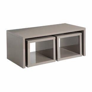 Henderson 3 Piece Coffee Table Set By Ebern Designs