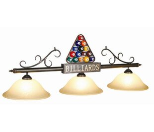 RAM Game Room 3-Light Rack Billiard Light