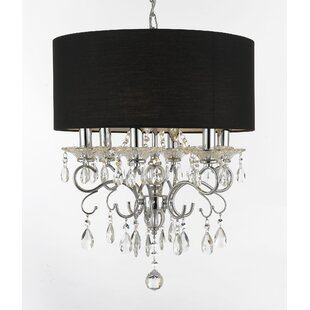 House of Hampton Hutcheson 6-Light Chandelier
