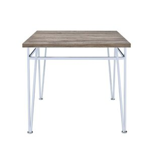 Ullrich Modern Counter Height Solid Wood Dining Table Orren Ellis