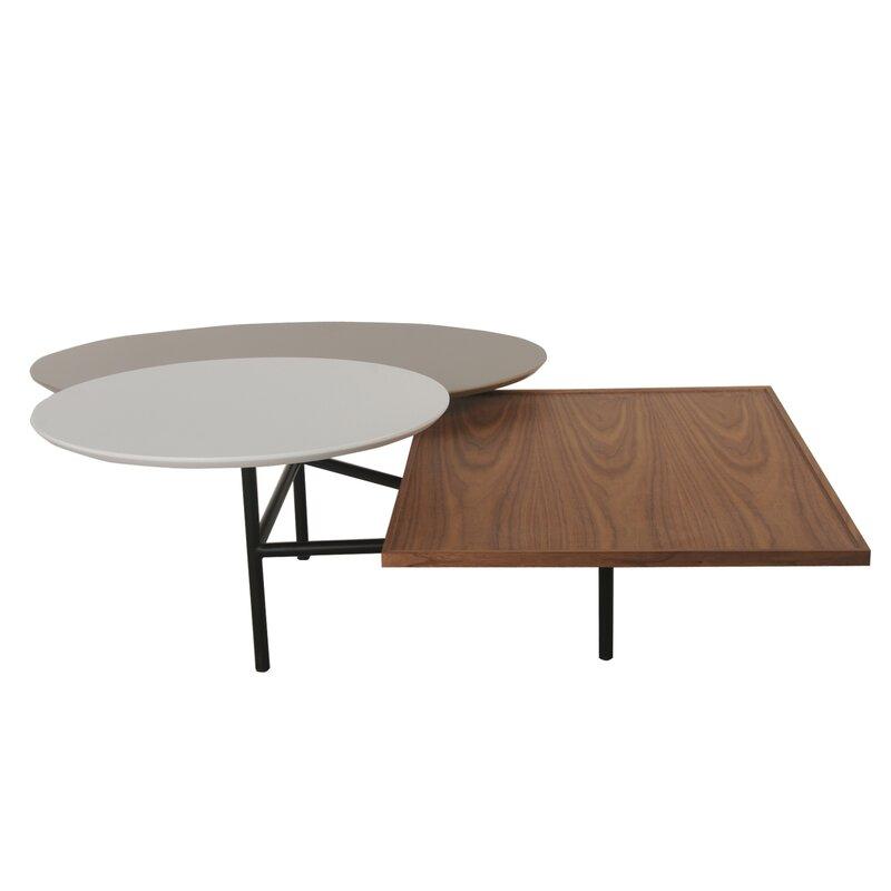 Leyden Trio Rotating Coffee Table