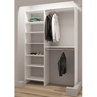 Demure Design 50.25W Closet System ByTidySquares Inc.
