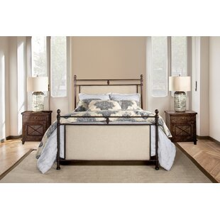 Colley-Critchlow Upholstered Panel Bed by August Grove