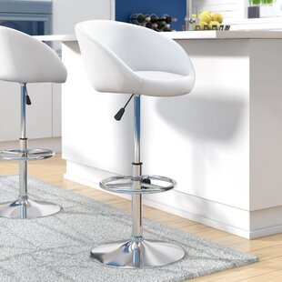 Nordquist Adjustable Height Swivel Bar Stool