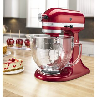 Artisan Design Series 10 Speed 5 Qt. Stand Mixer with Glass Bowl