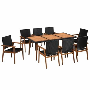 Christensen 8 Seater Dining Set By Sol 72 Outdoor