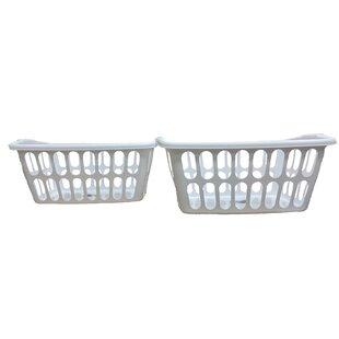 Purchase Laundry Basket (Set of 2) By Rebrilliant