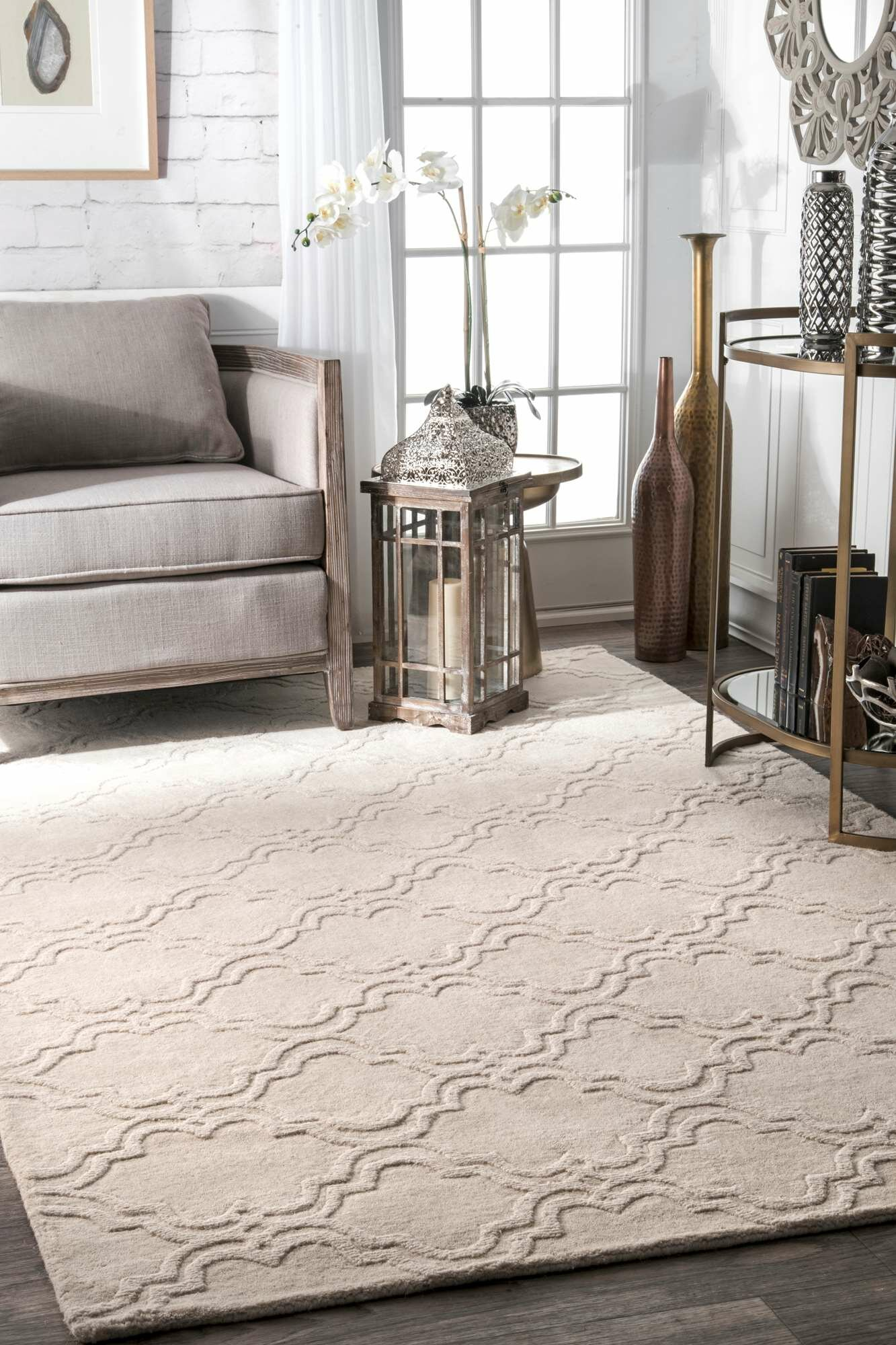 Willa arlo interiors alonza wool cream area rug reviews wayfair ca