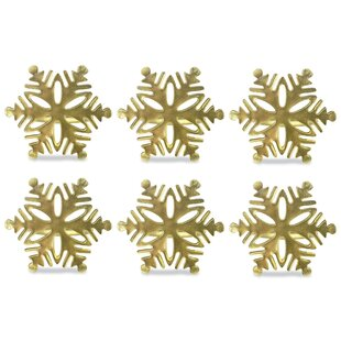 Snowflake Napkin Ring (Set of 6)