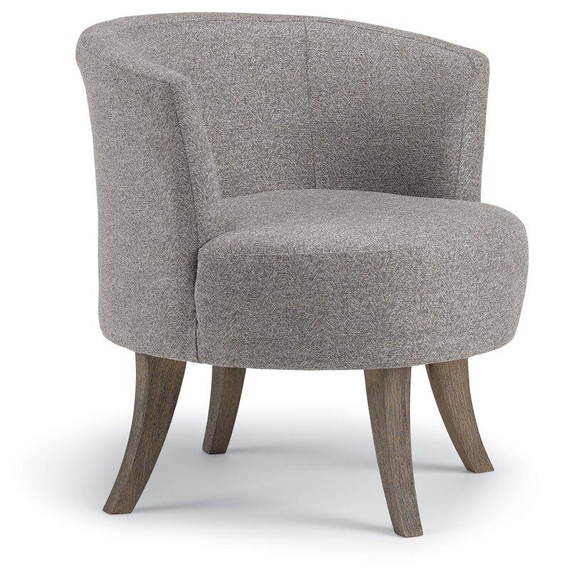 Best Home Furnishings Steffen Swivel Barrel Chair Reviews Wayfair