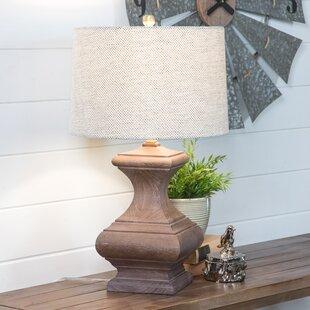 Bargain Verdugo Wood 26 Table Lamp By Gracie Oaks