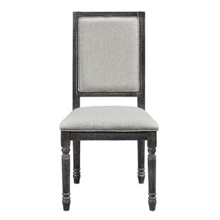 Sandown Upholstered Dining Chair (Set Of 2) by Three Posts Best