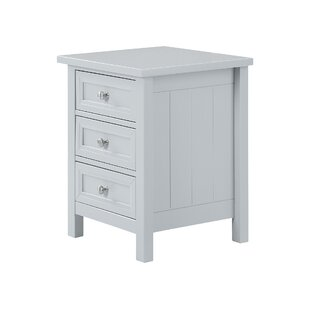 Ares 3 Drawer Bedside Table By House Of Hampton