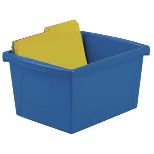 Reviews Stackable Cubby Bin (Set of 6) By Storex