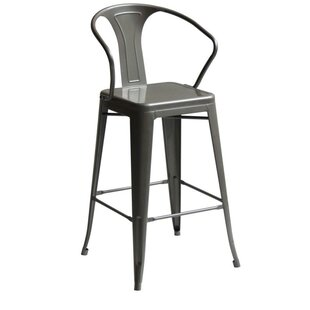 Penagos High Back 30 Bar Stool with Arms Gracie Oaks