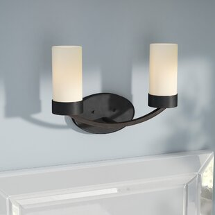 Price Check Sanderson 2-Light Vanity Light By Andover Mills