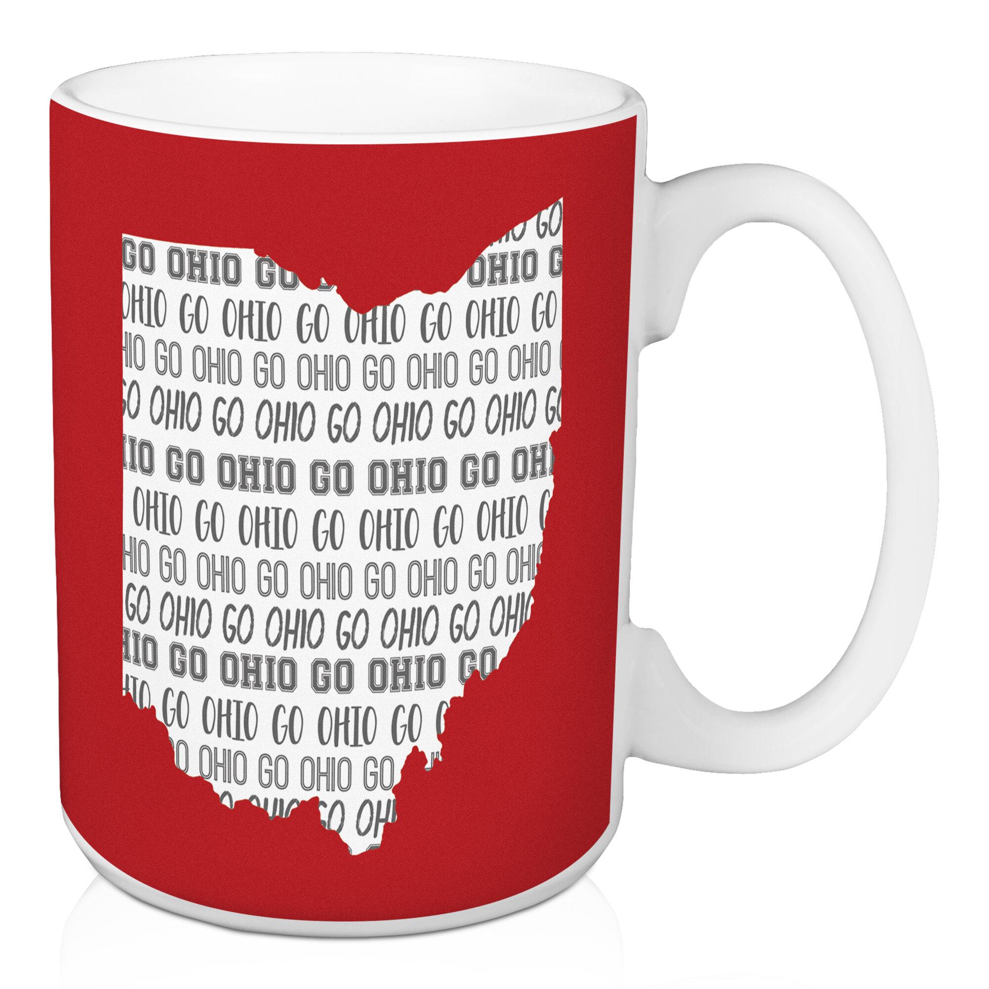Ebern Designs Frazee Go Ohio Coffee Mug Wayfair