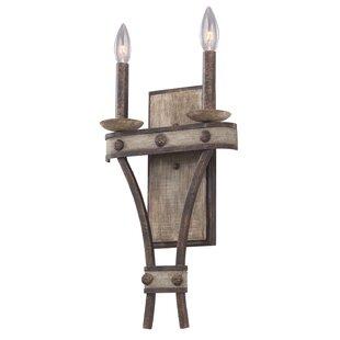 Order Coronado 2-Light Candle Wall Light By Kalco