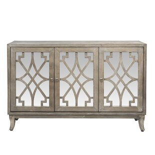 Jeffery 3 Door Accent Cabinet by House of Hampton