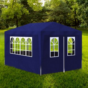 13 Ft. W x 10 Ft. D Steel Party Tent by Freeport Park