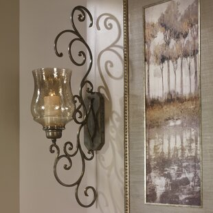 Candle Iron Sconce