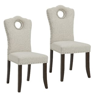 Darby Home Co Bentonville Upholstered Dining Chair (Set of 2)
