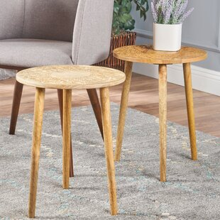 Taourirt End Table Set (Set of 2) by Bungalow Rose