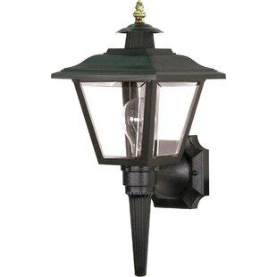 Halliday Outdoor 1-Light Aluminum Shade Lantern Head by Breakwater Bay