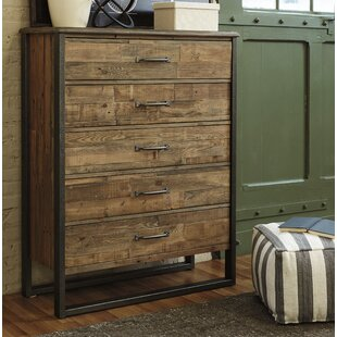 Burkhead 5 Drawer Chest by Union Rustic