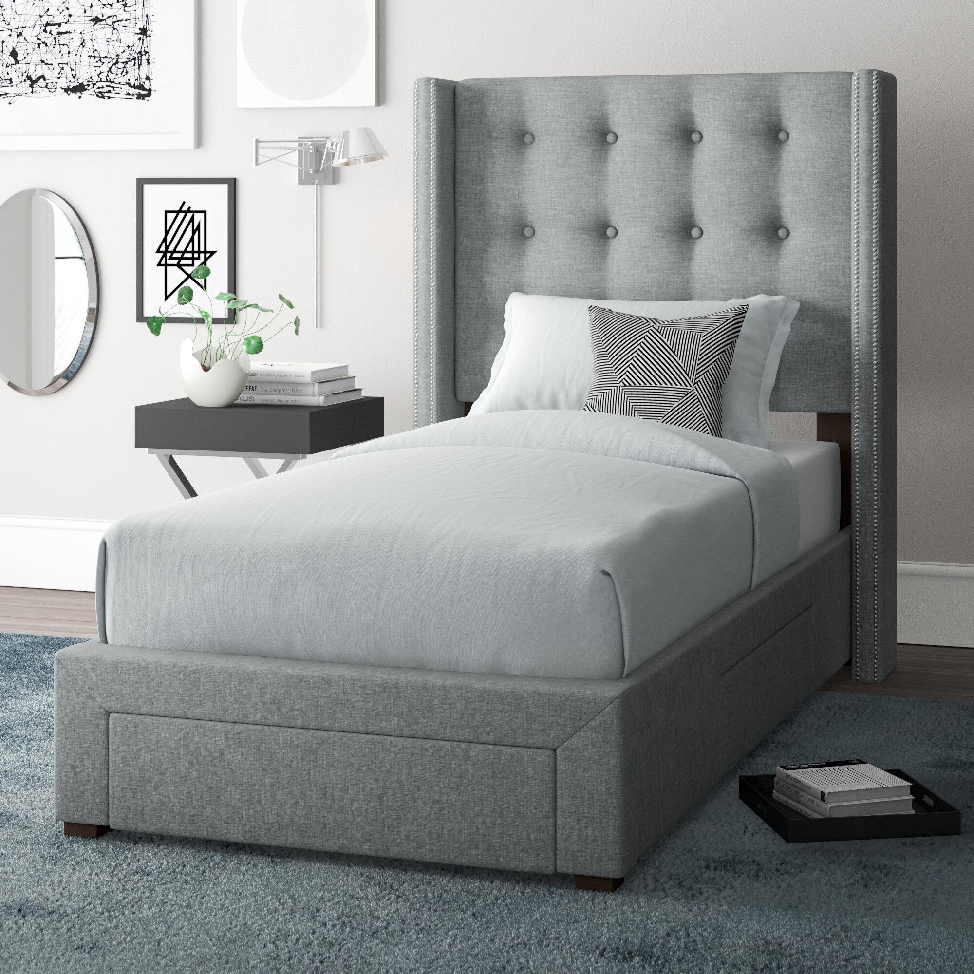 Kerens Twin Upholstered Storage Standard Bed