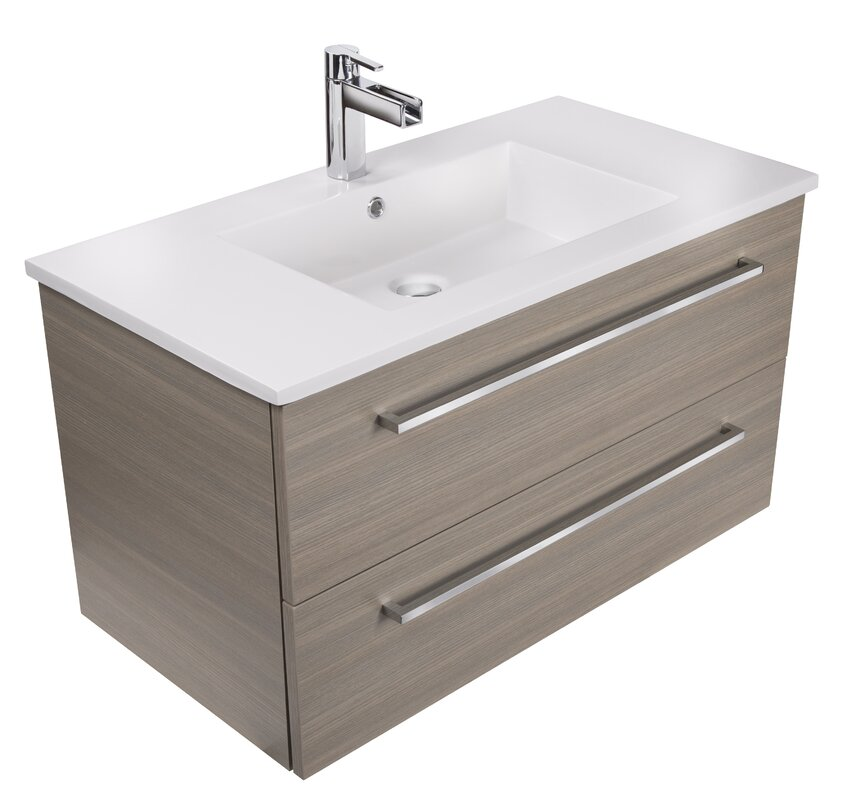 Silhouette Single Bathroom Vanity Set