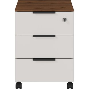 Mahurin 3 Drawer Filing Cabinet By Ebern Designs