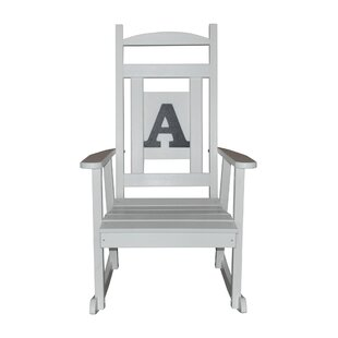 Romano Poly Rocking Chair by Canora Grey