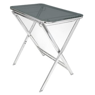 Cambridge Foldable Tray Table by Symple Stuff