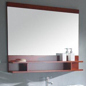 Bathroom Mirrors Under $50 shelf or drawer mirrors you'll love | wayfair