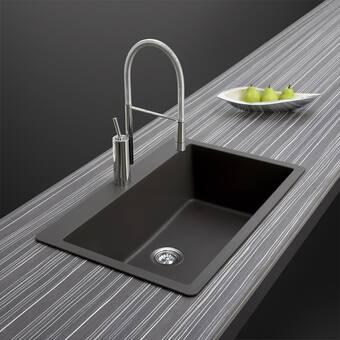 Barclay Pierina 30 L X 19 W Drop In Kitchen Sink Reviews Wayfair