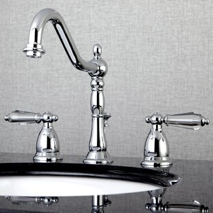 Kingston Brass Wilshire Widespread Bathroom Faucet with Drain Assembly