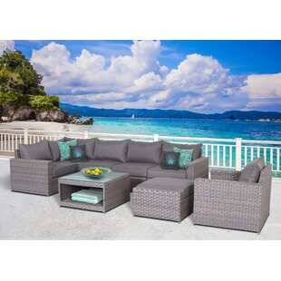 Goudreau 8 Piece Sectional Set with Cushions