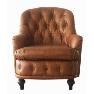 Melange Home Somerset Leather Armchair