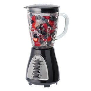 10 Speed Glass Jar Blender