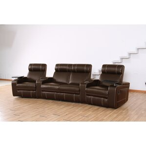 Riverton Home Theater Recliner (Row of 4) by Wildon Home ?