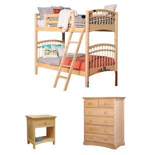 Sandisfield Twin Standard Bed Configurable Bedroom Set by Zoomie Kids