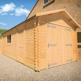 Malayan 10 X 16 Ft. Tongue And Groove Log Cabin By Tiger Sheds