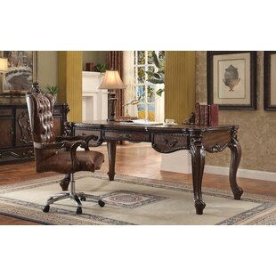 Welton Executive Desk with Hutch