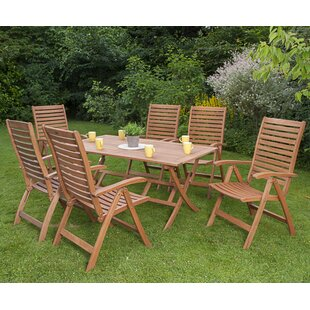 Sivert 6 Seater Dining Set By Sol 72 Outdoor