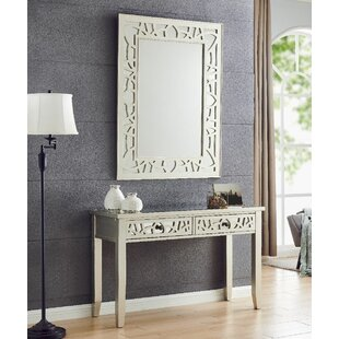 Christopher Console Table And Mirror Set By World Menagerie