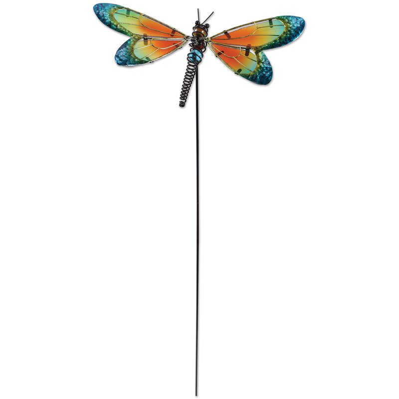 Bon Dragonfly Garden Stake