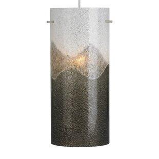 1-Light Cylinder Pendant by Orren Ellis