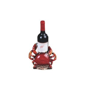 Magdalen Crab Tabletop Wine Bottle Rack b..